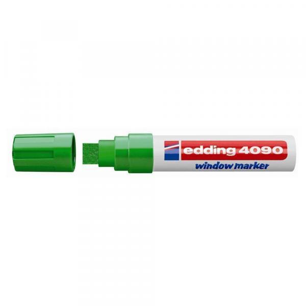 Маркер меловой Edding 4090, 4-15 мм, зеленый