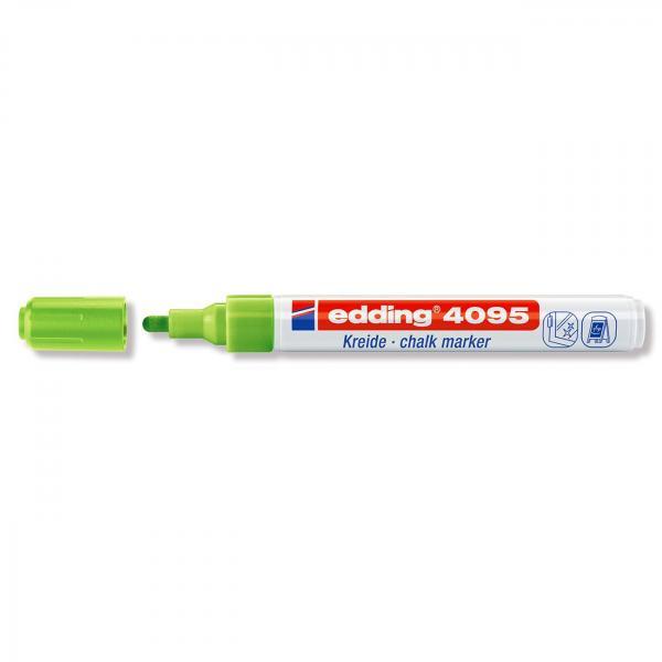 Меловой маркер Edding 4095, 2-3 мм, салатовый