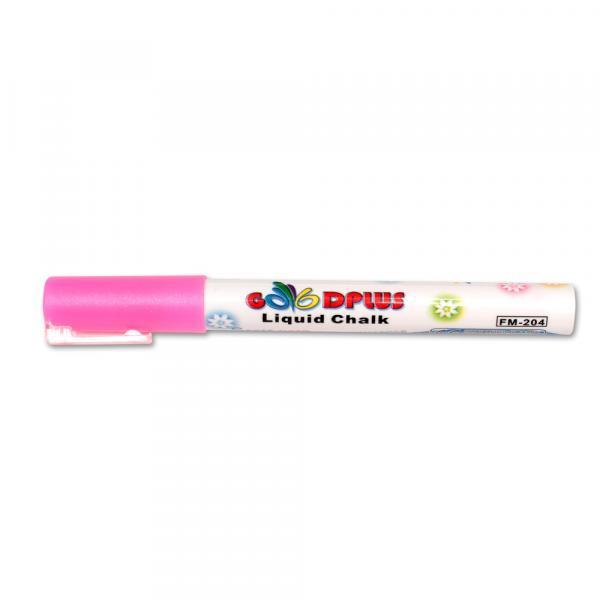 Меловой маркер GoodPlus 204, 1-2 мм, розовый