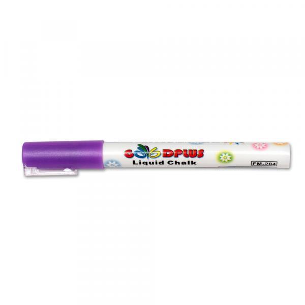 Меловой маркер GoodPlus 204, 1-2 мм, фиолетовый