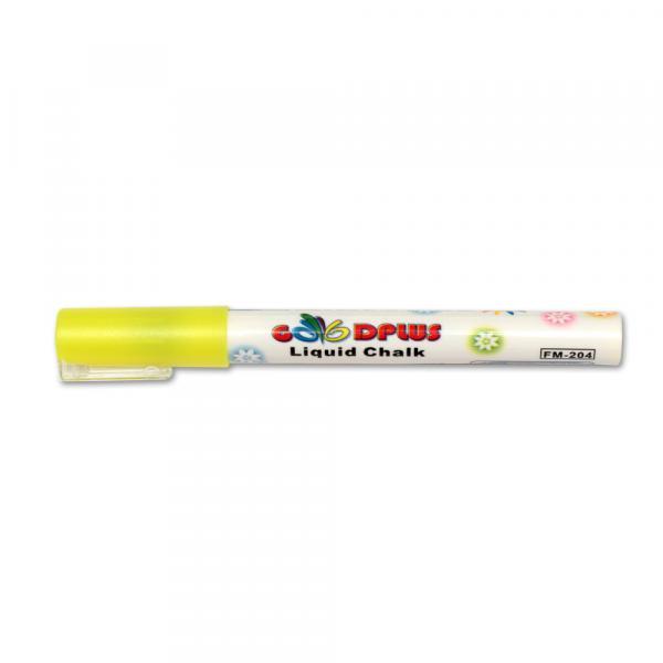 Меловой маркер GoodPlus 204, 1-2 мм, жёлтый
